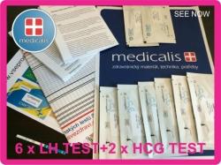Ovulační test proužek COMFORT 6 ks+2 ks TT zdarma
