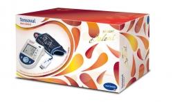 Tonometr digitální TENSOVAL Duo control 3v1 + USB (2 manžety+adaptér+USB) dárk. balení 2014