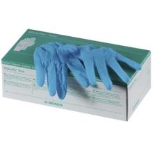 Vyšetřovací nesterilní rukavice bez pudru - nitrilové L