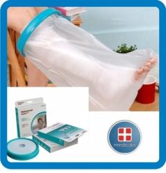 Voděodolný návlek na sádru, ortézu, bandáž (dospělý / noha ke koleni)