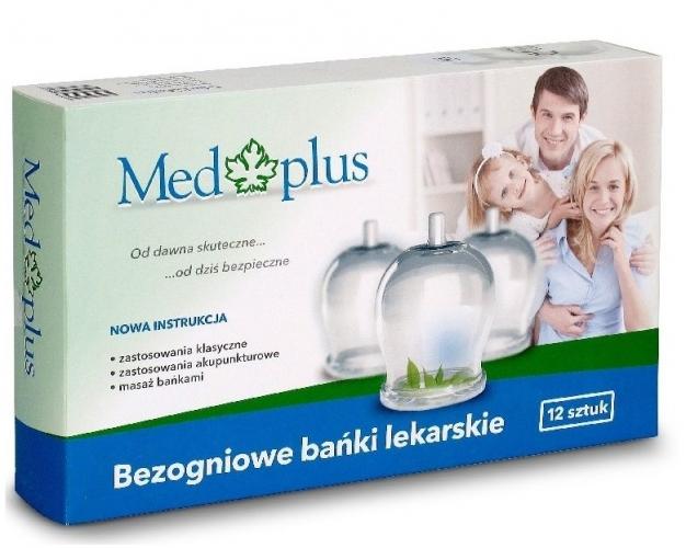 Skleněné baňky pro tradiční medicínu, 12 ks, průměr 40 mm