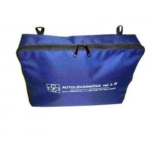Autolékárnička textilní TYP III dle vyhl. 341/2014 Sb.