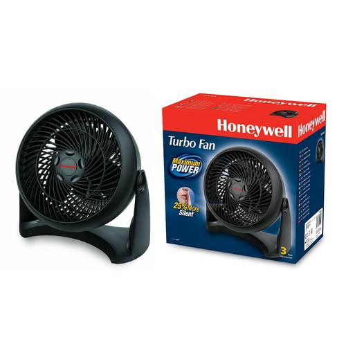 Podlahový a nástěnný ventilátor Honeywell Turbo Fan HT-900E, Ø 26 cm, 40 W, černá