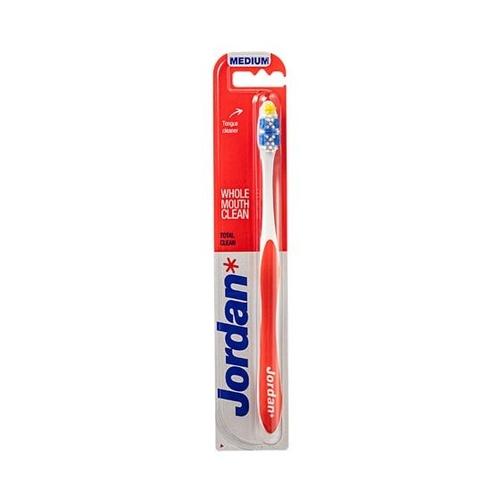 Zubní kartáček JORDAN TOTAL CLEAN Tvrdost Medium - střední