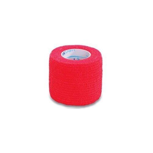 Elastické kohezivní obinadlo 2,5 x 450 cm StokBan Barva červená