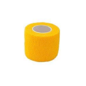 Elastické kohezivní obinadlo 2,5 x 450 cm StokBan Barva žlutá